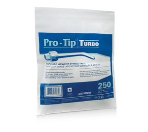 Pro-Tip Turbo - Disposable Air/Water Syringe Tip, 250pk