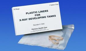 X-Ray Tank Liners, Disposable, Heavy Plastic, Fits all 1-gallon Tanks with stainless steel inserts