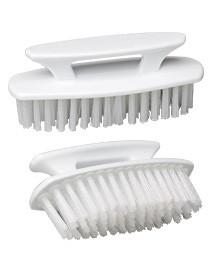 Topcat Super-Scrubber with Handle, Stiff bristles. Use on instruments before sterilizing or ultrasonic cleaning. Multi-function brush can also scrub o