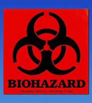 Biohazard Labels, 3 x 3, OSHA Compliance Lable systems for all healthcare facility needs. Easily identify all hazardous substances, waste and radia
