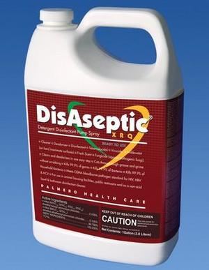 DisAseptic XRQ Disinfectant/Cleaner - 1 Gallon Refill. Quaternary ammonium-based detergent, ready-to-use, one step. Kills TB; bactericidal, fungicidal