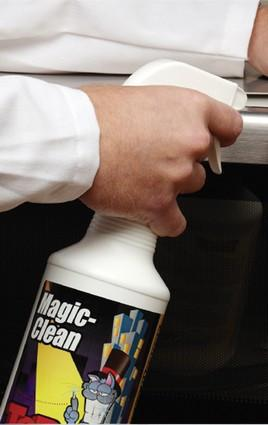TopCat Magic-Clean. All Purpose Cleaner, fast-acting formula with more active ingredients than national brands. Biodegradable and environmentally frie