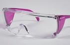 End-Fog Eyewear - Purple Frames with Clear Lens, Extra anti-fog coating sets End-Fog apart from other economy eyewear. Features a secure snug fit and