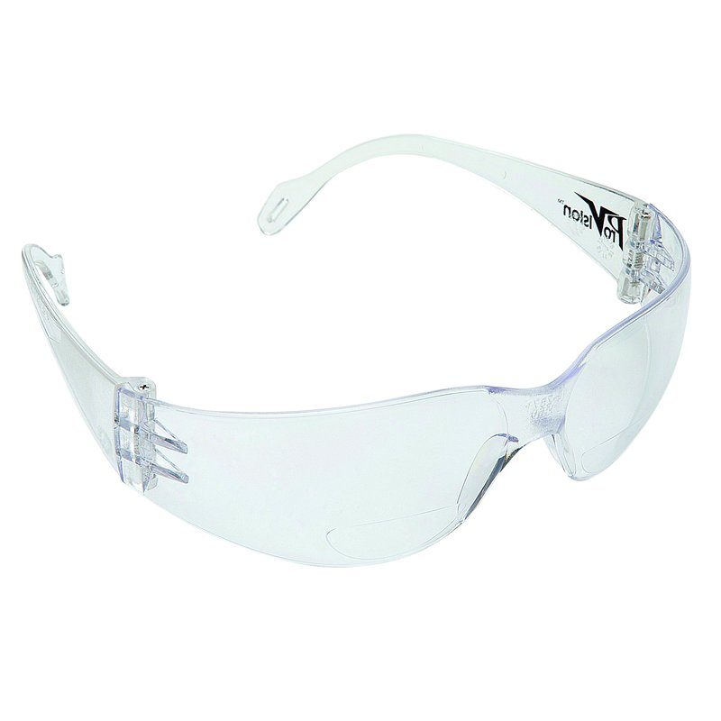 57-3601C Econo Wraps Eyewear - Clear Frame & Lens with UVA and UVB Protection, 1/Pk. Feather-weight, low-cost eye protection that offers a universal fit, super