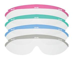 Dynamic Disposable Eyewear - Replacement Lens CLEAR 100/Pk.