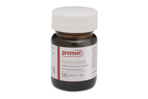 Hemodent liquid, 20cc bottle
