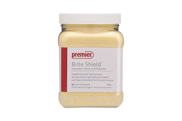 35-9011100 Premier Brite Shield Enzymatic Cleaner, 800gm jar