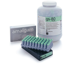 GS-80 2 Spill Regular Set Amalgam, 50/bx