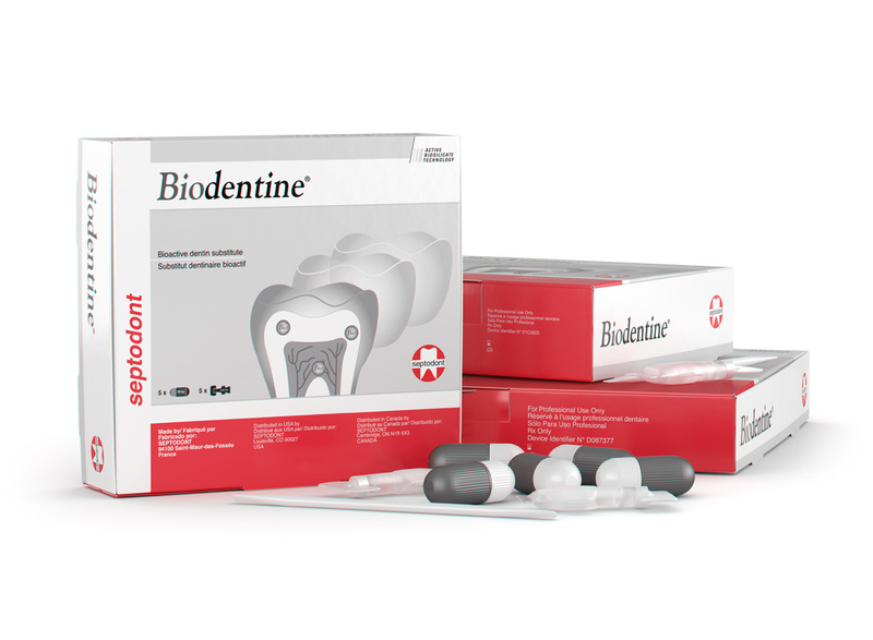 31-01-C0600 Biodentine Bioactive Dentin Substitute, .18 ml unit dose Capsules, 15/bx