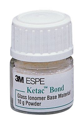 Ketac-Bond Powder Refill, Yellow Shade, 10gm.