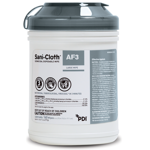 Sani-Cloth AF3 Germicidal Wipes, Large, 160/cn