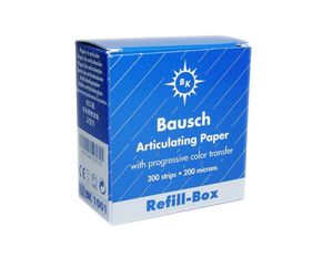 Bausch Blue articulating paper dispenser refill