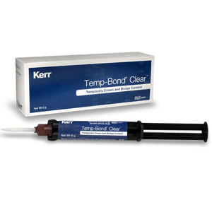 TempBond Clear 6g Automix Syringe