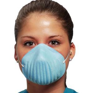 Defend Form-Fit Cone Mask Blue, 50/bx