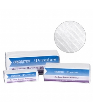3 x 3 12 ply All Gauze Sponges 5000/Case. Non-Sterile.