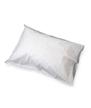 Pillow Case, White 21 x 30 Disposable, 100/cs