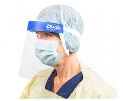 Dukal Face Shield With Foam Headband, 5/pk