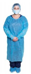 Dukal Isolation Gowns Blue, 10/pk