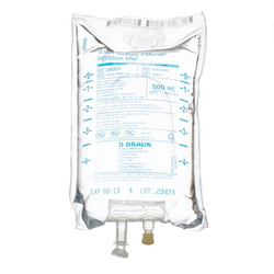 Braun Sodium Chloride Injections, 0.9%, 500mL