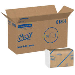 Kleenex Multifold 180 paper towels, 4000/cs