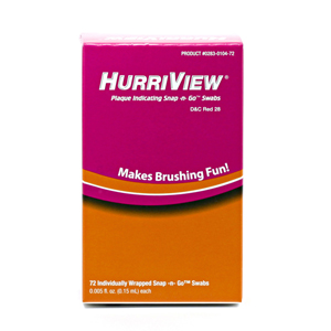 HurriView Snap -N- Go Swabs