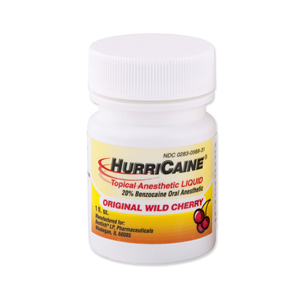 HurriCaine Wild Cherry Topical Liquid