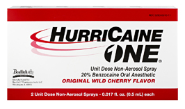 Hurricaine One Unit Dose