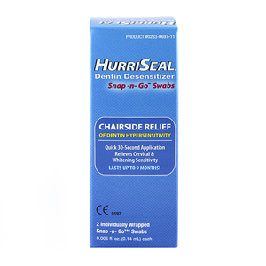 HurriSeal Dentin Desensitizer Snap-n-Go Swab