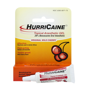 HurriCaine Wild Cherry Topical Gel