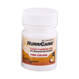 HurriCaine Pina Colada Topical Gel