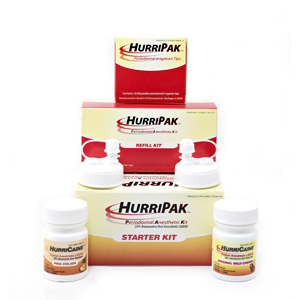 HurriPAK Periodontal Anesthetic Starter Kit