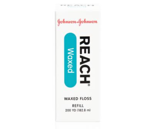 Reach Dental Floss Waxed Unflavored, 200yd. spool